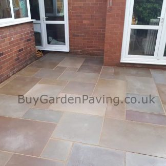 Raj Green Smooth Sandstone Paving