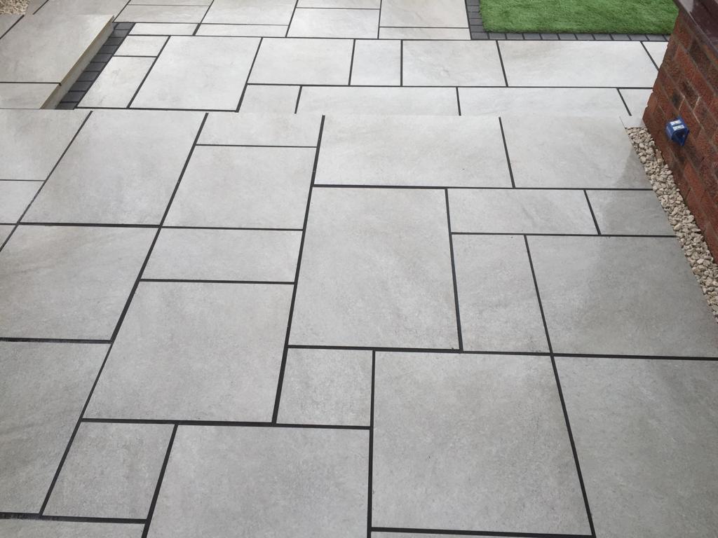 Hammer Grey 20mm Vitrified Porcelain Paving 19m2 Patio Pack - Buy Garden  Paving | Indian Stone | Porcelain | Granite | Smooth Sandstone